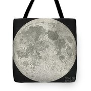 Lunar Cartography Tote Bag