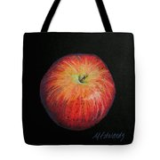 Lunch Apple Tote Bag