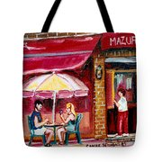 Lunch At The Mazurka Tote Bag