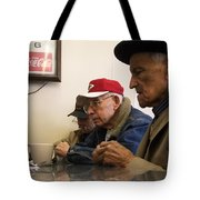 Lunch Counter Boys Tote Bag