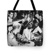 Lunch Counter Sit-in, 1963 Tote Bag by Granger