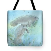 Lunch Crowd Tote Bag