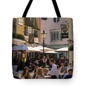 Lunch In Brighton Tote Bag by Trevor Wintle