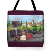 Lunch In Provence Tote Bag