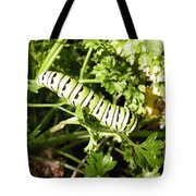 Lunch In The Garden Tote Bag