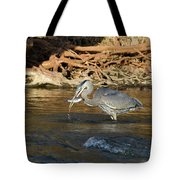 Lunch On The Neuse River Tote Bag