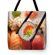 Lunch With  Sushi  Tote Bag