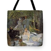 Luncheon On The Grass, Centre Panel Tote Bag