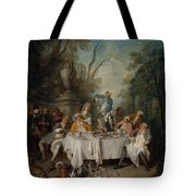 Luncheon Party In A Park Tote Bag