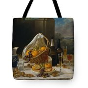 Luncheon Still Life, At And By John F. Francis Tote Bag