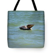 Lunchtime Pelican  Tote Bag