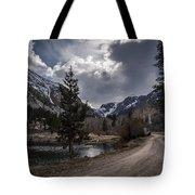 Lundy Lake Road Tote Bag