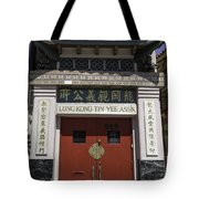 Lung Kong Tin Yee Association Red Doors Tote Bag