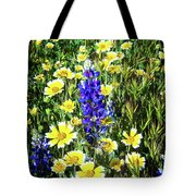 Lupine Amidst Tidy Tips Tote Bag