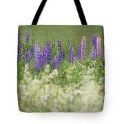Lupine Bright Tote Bag