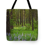 Lupine Carpet Tote Bag