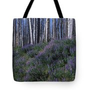 Lupine On Mt. Washburn - Yellowstone Tote Bag