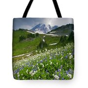 Lupine Storm Tote Bag