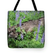 Lupines And Windfall Tote Bag