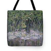 Lupus Luna Tote Bag
