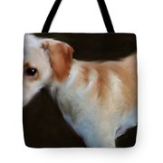 Lurcher Portrait  Tote Bag