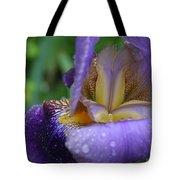 Luscious Blooming Iris Tote Bag