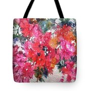 Luscious Bougainvillea Tote Bag by Michelle Abrams