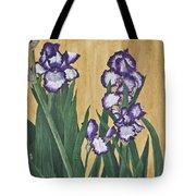 Luscious Iris Tote Bag