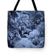 Luscious Snowfall Tote Bag