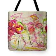 Lush Flowers Tote Bag