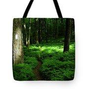 Lush Green At 2 Tote Bag