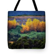 Lush New Zealand Countryside Tote Bag