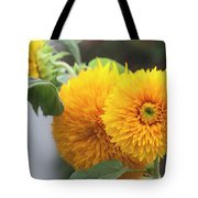 Lush Sunflowers Tote Bag