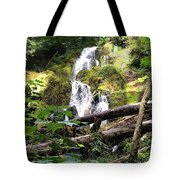 Lush Waterfall Tote Bag