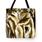 Lustrous Golden Tulip Tote Bag