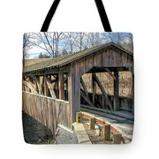 Luther Mills Bridge Tote Bag
