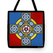 Lutheran Cross Tote Bag