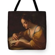 Luti, Benedetto Attributed To Saint Catherine Second Half Of The Xvii - Primer Cuarto Del Siglo Xv Tote Bag