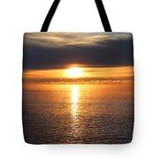 Lutsen Shore Sunrise Two Tote Bag