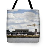 Lux Air London City Airport Tote Bag