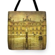 Luxembourg Palace Paris Tote Bag