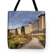 Luxurious Chateau Lake Louise Tote Bag