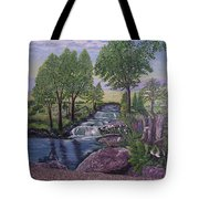 Luxury Bath Time Tote Bag