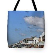 Luxury Beach Houses Malibu Tote Bag