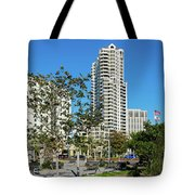Luxury High Rise Apartments Tote Bag