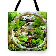 Luxury Landscape Tote Bag