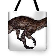 Lycaenops Dinosaur Walking, White Tote Bag