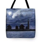 Lydia Ann Lighthouse Tote Bag