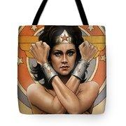 Lynda Carter Tote Bag