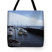 Lynmouth Harbour Tote Bag